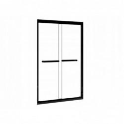 Ścianka łazienkowa prysznicowa LOFT 120cm czarne